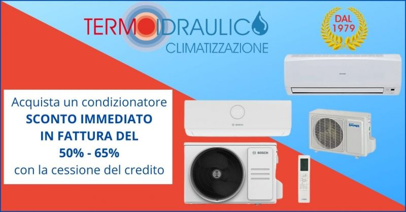 offerta vendita e montaggio condizionatori Pistoia - acquisto condizionatore cessione credito