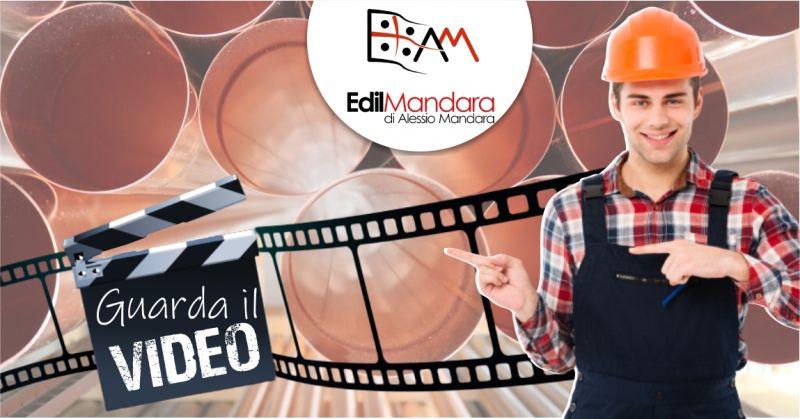 EDILMANDARA di Alessio Mandara - offerta opere di lattoneria e gronde pluviali per tetti e coperture