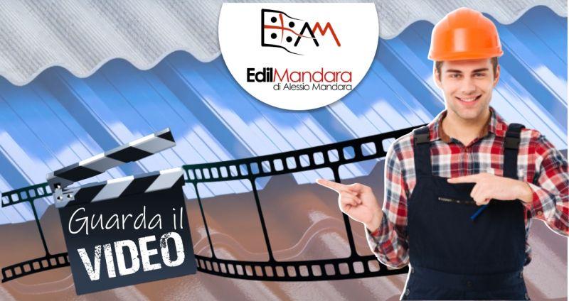 EDILMANDARA di Alessio Mandara - offerta progettazione coperture e tettoie in lamiera