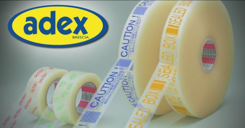 ADEX Offerta realizzazione nastri adesivi Brescia - occasione vendita nastri adesivi Brescia