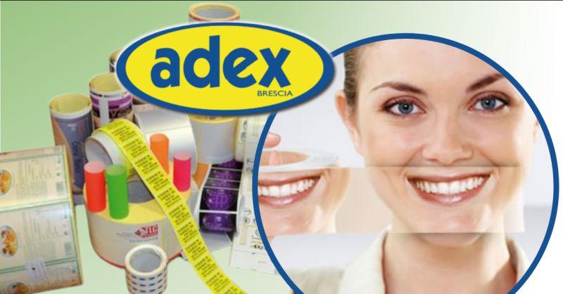 ADEX - Offerta nastri adesivi prestampati in alta definizione Brescia