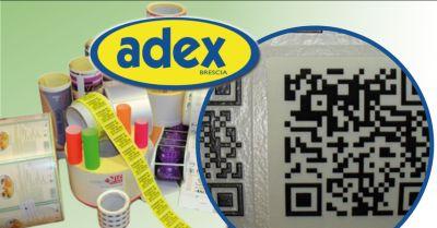 adex offerta etichette adesive stampate in digitale brescia occasione etichette piccoli lotti