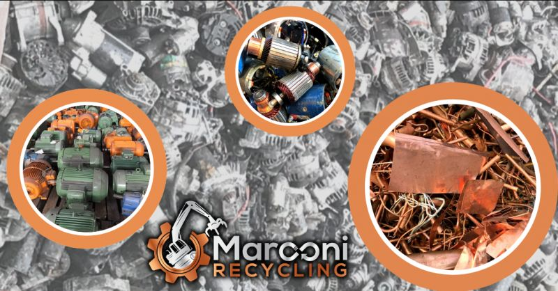 MARCONI RECYCLING - Offerta recupero e riciclaggio di rottami metallici Brescia