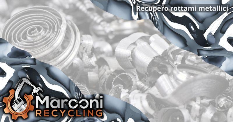 MARCONI RECYCLING - Offerta recupero rottami metallici Brescia