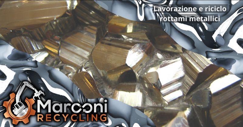 Offerta lavorazione dei rifiuti metallici Brescia - occasione riciclo rifiuti metallici Brescia