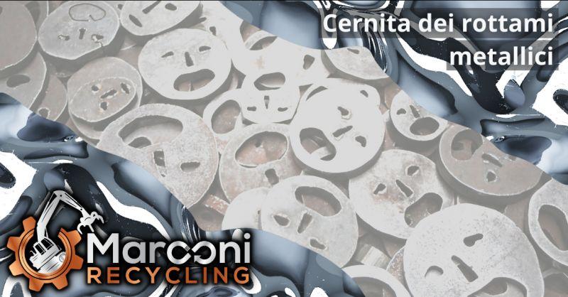 MARCONI RECYCLING - Offerta cernita di rottami metallici recuperati Brescia