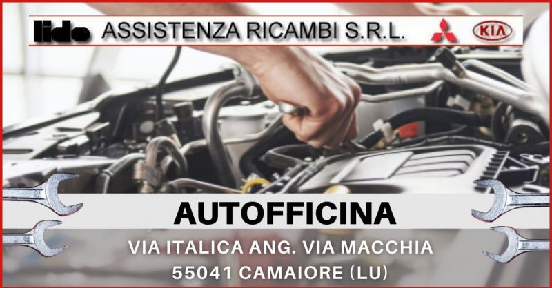 promozione autofficina specializzata in riparazione meccaniche Lucca e Versilia - LIDO ASSISTENZA RICAMBI
