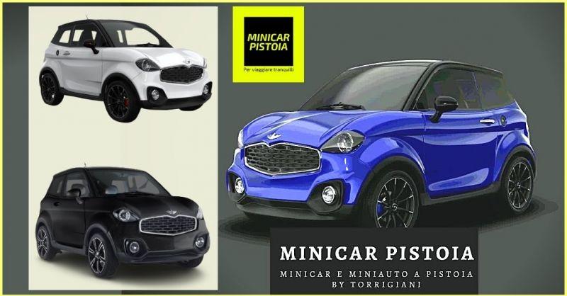 occasione venditore Minicar da guidare senza patente Pistoia – offerta Microcar in vendita Pistoia