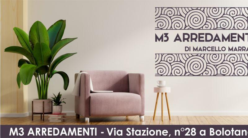 M3 ARREDAMENTI di Marcello Marras - offerta novita tocco originale elegante alla casa