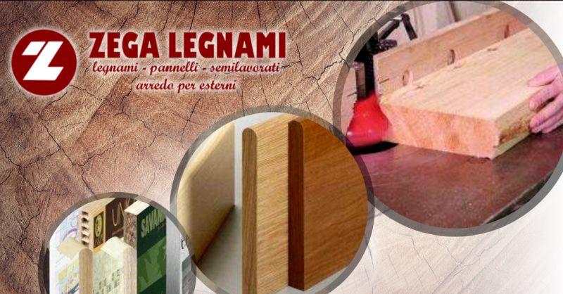 ZEGA LEGNAMI Offerta vendita legnami Roma - occasione semilavorati in legno Roma