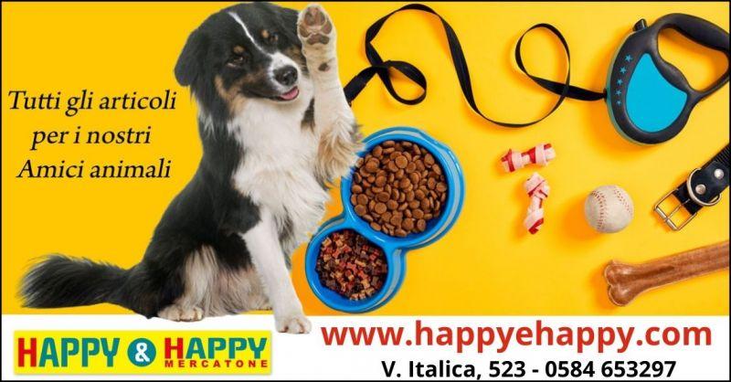 promozione accessori e alimenti animali Lucca e Versilia - offerta prodotti cura e pulizia animali