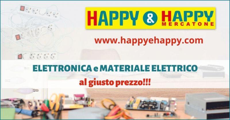 offerta negozio elettronica e materiale elettrico Versilia - HAPPY E HAPPY