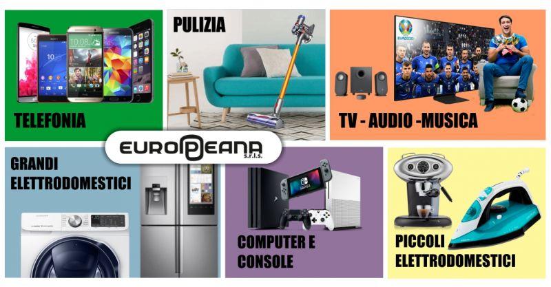 EUROPEANA - offerta grande negozio di elettronica Alghero