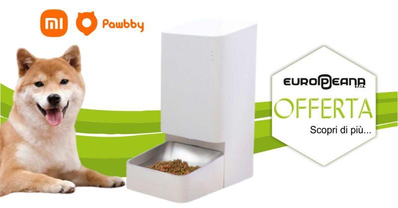 EUROPEANA Alghero - promozione video dispenser cibo smart Xiaomi Pawbby