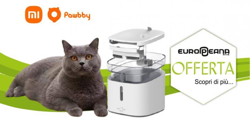 EUROPEANA Alghero - promozione video dispenser acqua smart Xiaomi Pawbby