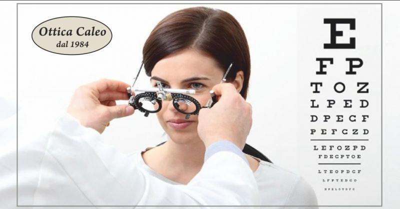 ottica caleo offerta controllo della vista gratuito - occasione controllo vista ottico carrara