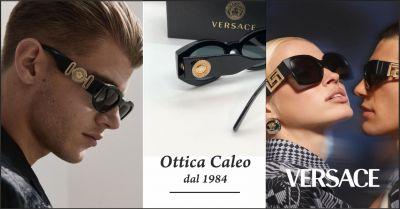 ottica caleo offerta occhiali da sole versace occasione occhiali da vista versace carrara