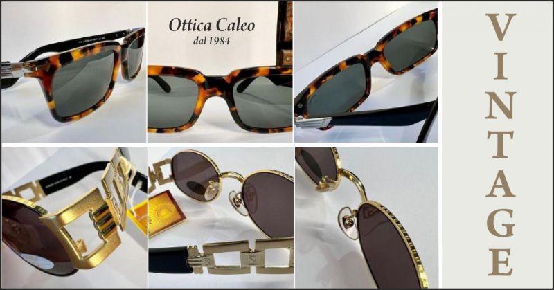 offerta vendita occhiali con montature vintage - occasione occhiali da donna vintage massa carrara