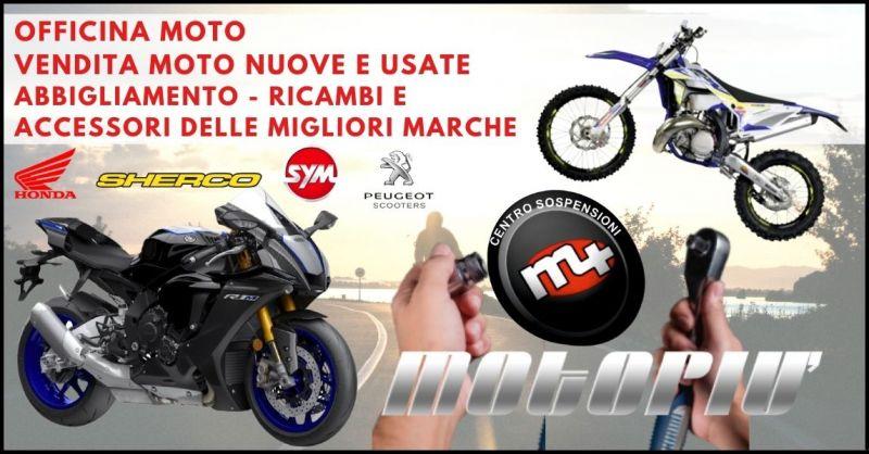 officina vendita moto nuove e usate – occasione negozio abbigliamento e ricambi accessori moto
