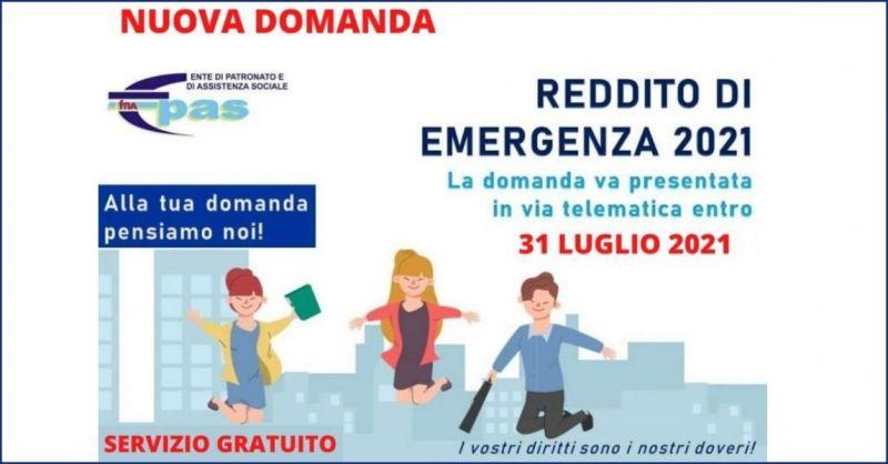 domanda on line reddito di emergenza