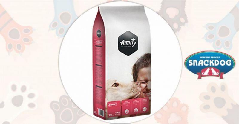 Snack Dog - offerta crocchette Amity Adult mantenimento 20 kg