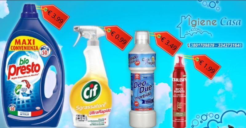 Offerta vendita prodotti per la casa Vittoria - occasione vendita schiuma per capelli Ragusa