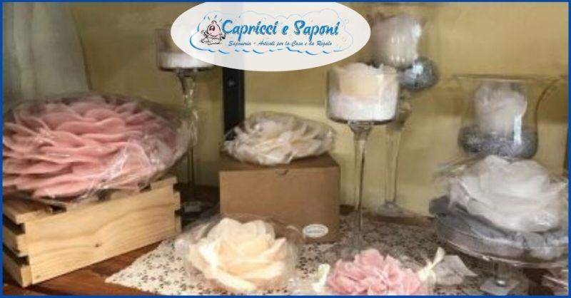 Promozione candele artigianali Cereria di Parma - Capricci e Saponi Capezzano Pianore