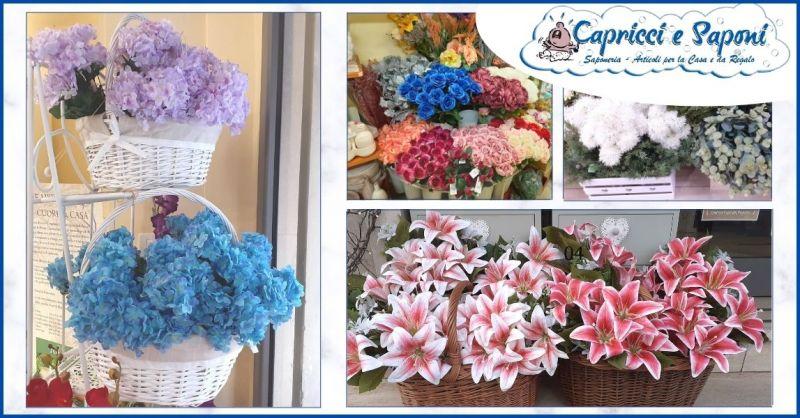 promozione piante e fiori artificiali Lucca - offerta fiori e piante finte Versilia