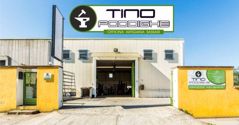 TINO PODDIGHE SASSARI -  offerta fabbro esperto per lavorazioni artigianali