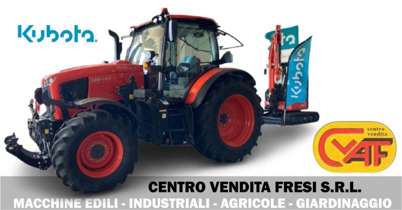 CENTRO VENDITA FRESI - offerta vendita macchine agricole e movimento terra Kubota