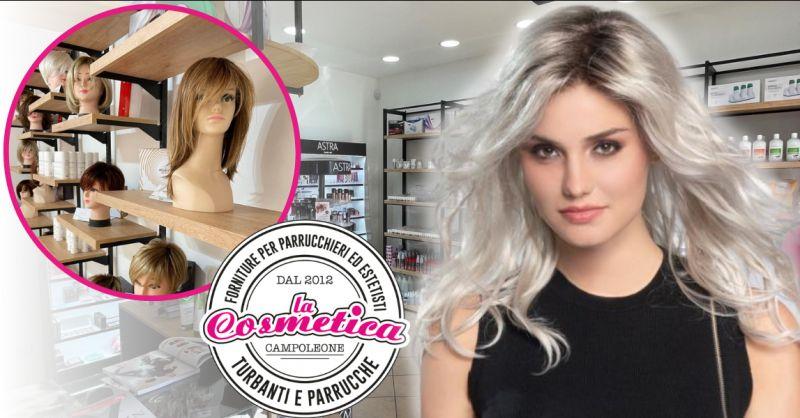 LA COSMETICA Offerta negozio parrucche Aprilia - occasione vendita parrucche Roma