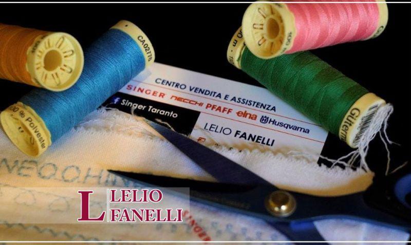 Lelio Fanellli - occasione macchine per cucire e da ricamo taranto