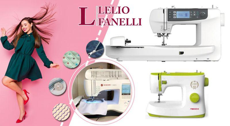 Lelio Fanellli - occasione vendita Macchine da cucire Singer - promozione vendita Macchine da cucire Necchi taranto
