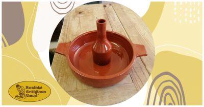 artigiana vasai offerta vendita online cuocipollo verticale in terracotta
