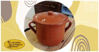 artigiana vasai offerta vendita online pentola per legumi in terracotta