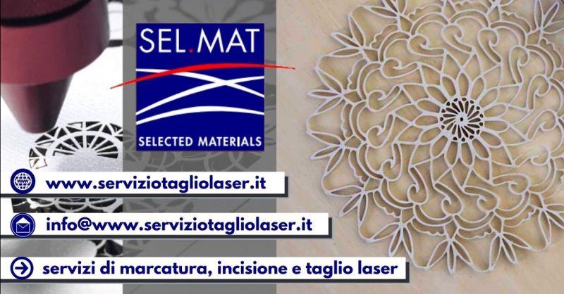 Offerta servizio lavorazioni laser su carta Verona - Occasione marcatura laser conto terzi Verona