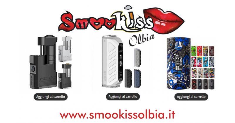 Smookiss Olbia Shop - offerta migliori box mod per sigaretta elettronica