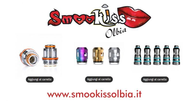 Smookiss Olbia Shop - offerta coil e resistenza sigaretta elettronica ricambi originali