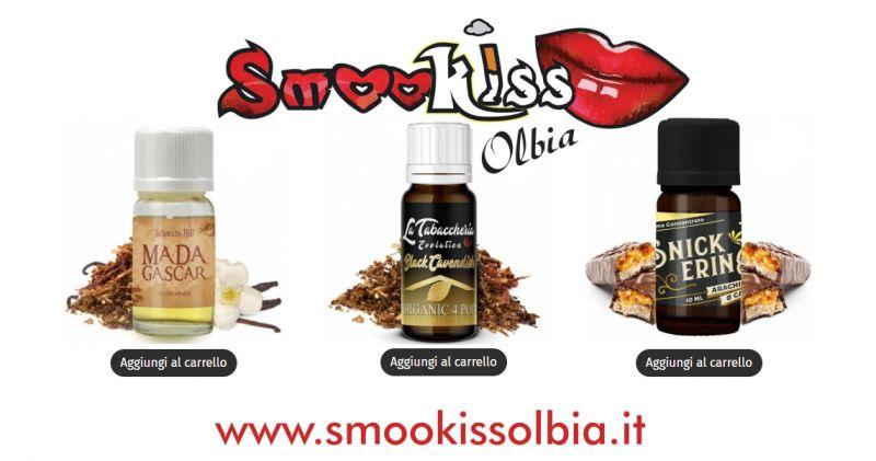 Smookiss Olbia Shop - offerta migliori liquidi  sigarette elettroniche aromatizzati con e senza nicotina