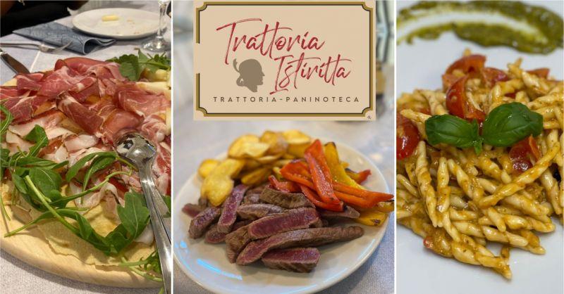 TRATTORIA ISTIRITTA - offerta ristorante piatti della cucina tipica Nuoro