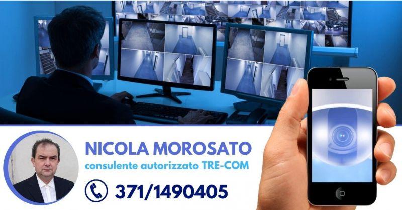 NICOLA MOROSATO - Offerta Impianto di sorveglianza collegato alla centrale operativa Verona