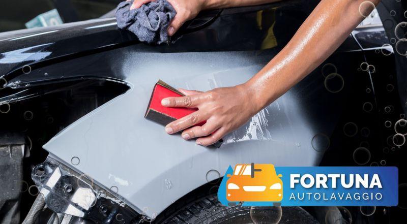 Offerta autolavaggio esterno e interno con sanificazione con ozono