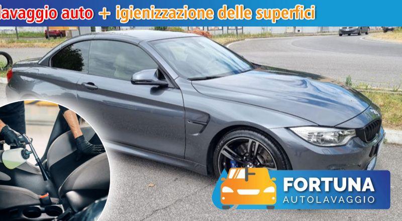 Fortuna Autolavaggio - Offerta lavaggio auto con igienizzazione superfici monza