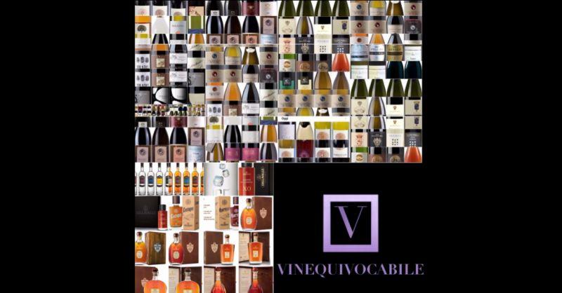 VINEQUIVOCABILE Offerta vini e liquori scontati Roma - occasione vini e liquori pregiati Roma
