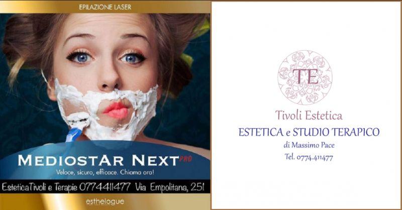 ESTETICA TIVOLI - offerta epilazione laser definitiva Tivoli