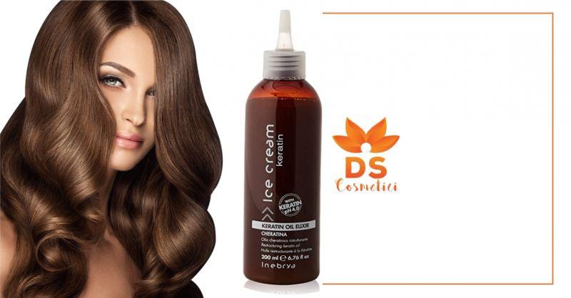 DS Cosmetici - offerta Inebrya Ice Cream Keratin olio ristrutturante alla keratina 200ml