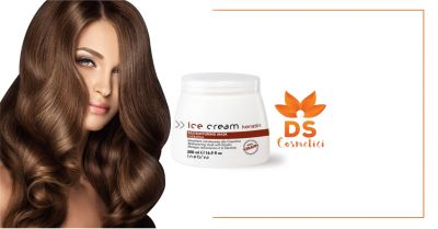 ds cosmetici offerta inebrya ice cream keratin maschera ristrutturante alla cheratina 500ml