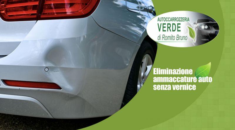 Autocarrozzeria Verde - Offerta eliminazione ammaccature auto senza vernice lamezia terme catanzaro