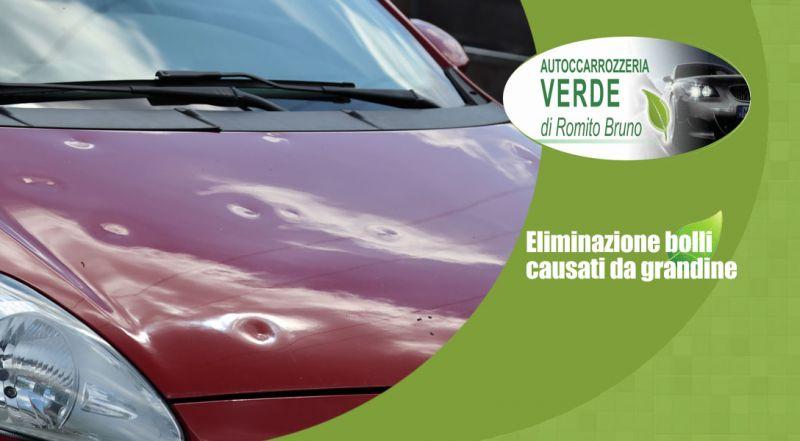 Autocarrozzeria Verde - Offerta eliminazione bolli causati da grandine lamezia terme catanzaro