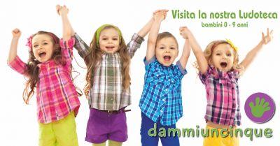 dammiuncinque offerta ristofamily torino occasione ludoteca bambini torino